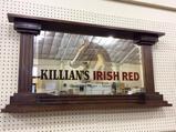 Wall Hanging Adv. Beer Mirror-Killians Irish Red