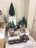 Lg. Group of Dept. 56 Including 4 Various Trees,