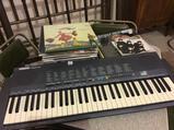 Yamaha Keyboard-Battery Operated-Missing Cord