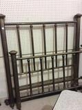 Heavy Vintage Brass Full Size Bed