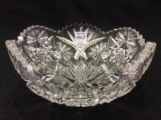Beautiful Cut Glass Bowl