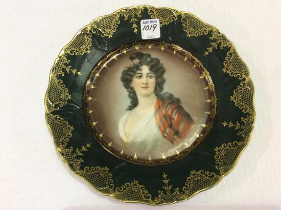 Prussia Portrait Plate (10 Inch Diameter)