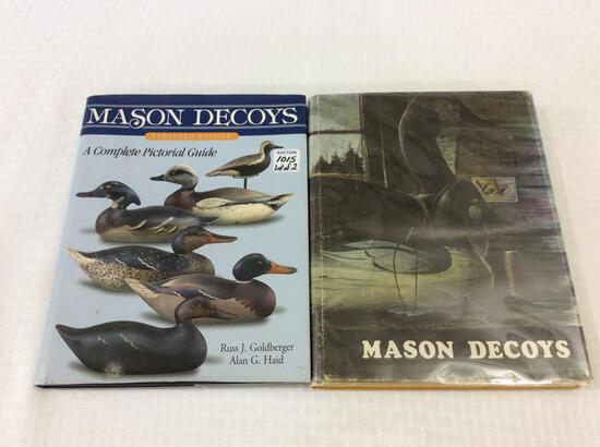 Lot of 2 Hard Cover Decoy Books Including