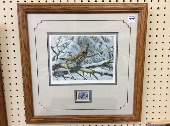 Framed-Signed & Number The Ruffed Grouse