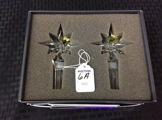 Pair of Waterford Crystal Congratulation