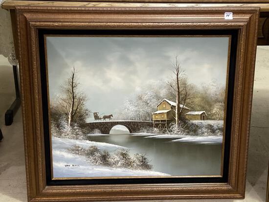 Framed Painting From Regency Home Galleries