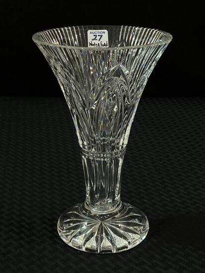 Tall Waterford Crystal Vase (Approx. 10 Inches