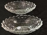American Fostoria 2-Oval Serving Dishes