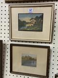 Lot of 2 Framed Wallace Nutting Prints-