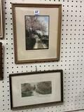 Lot of 2 Framed Wallace Nuttings Prints-