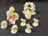 Lot of 7 Dept. 56 Snow Baby Penguins