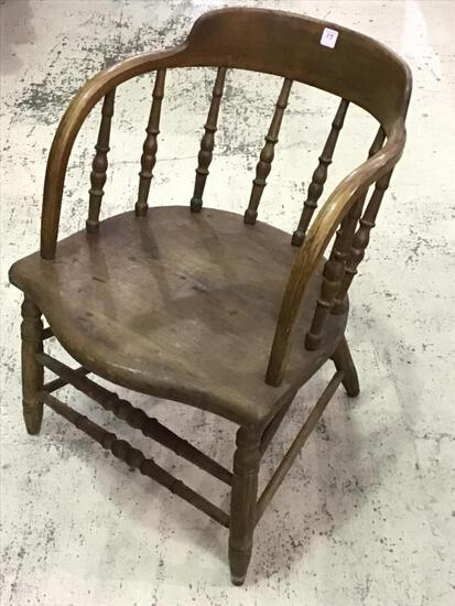 Primitive Bentwood Tavern Chair