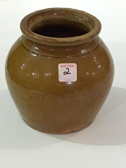 Galena Pottery Jar (Approx. 6 1/2 Inches Tall)