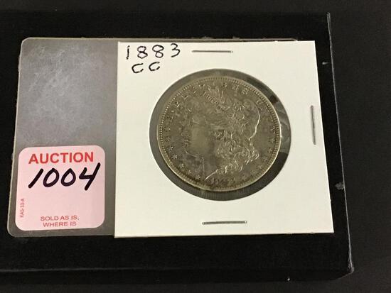 1883 Carson City Morgan Silver Dollar