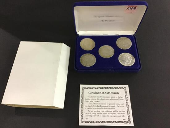 Morgan Silver Dollar Collection in Box