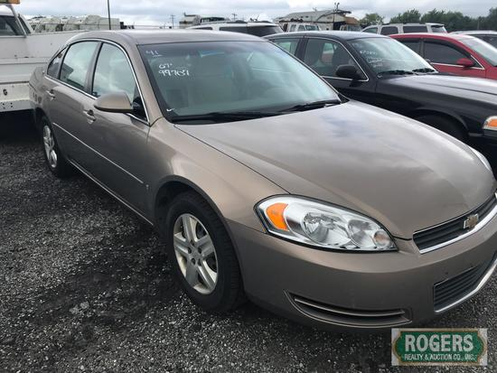 2007 CHEVROLET Impala, 99707 miles, 2G1WB58K579124183
