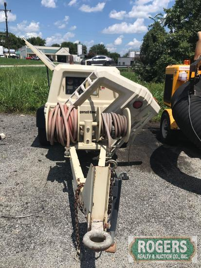 2005 Ingersol Rand Air Compressor Ser#357284, Damaged from Accident, Doesn't Run