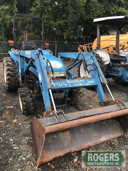 New Holland 7308   TC33D   Tractor   Farm Machinery