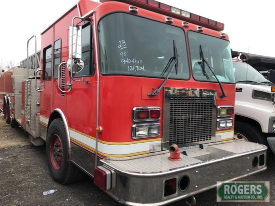 1998 - SPARTAN FIRE TRUCK -GA41M AERIAL