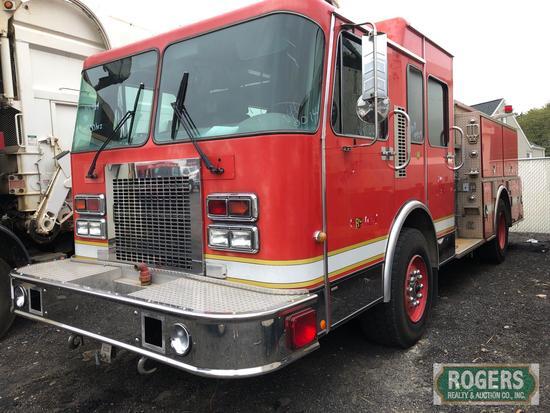 1994 - SPARTAN FIRE TRUCK -GLADIATOR PUMPER