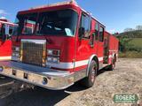 1993 - SPARTAN FIRE TRUCK -PUMPER