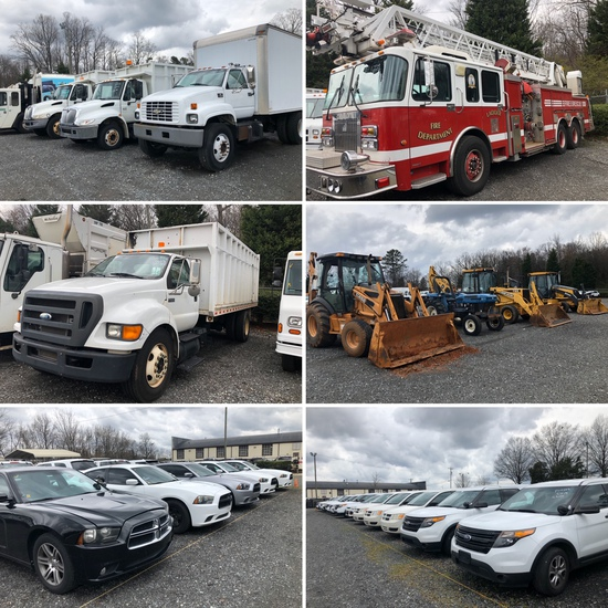 CHARLOTTE/MECKLENBURG CNTY ROLLING STOCK AUCTION!