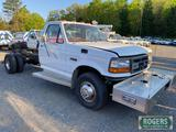 1992 FORD CAB AND CHASSIS