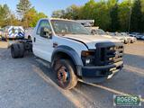 2009 FORD CAB AND CHASSIS