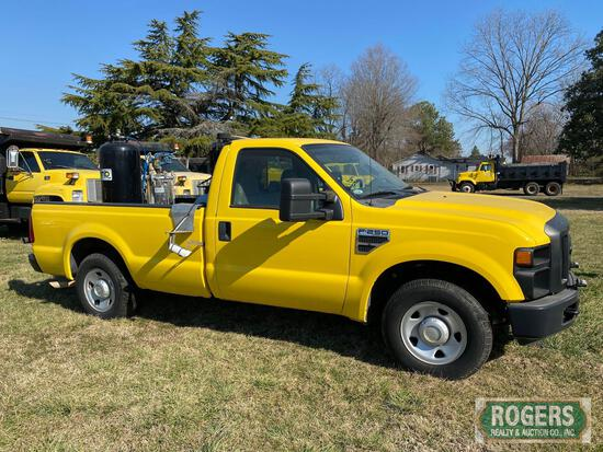 2008 Ford F-250 with 2009 MB CS12