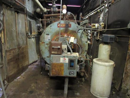 Indeck Gas Fired Low Pressure Boiler Model SPLV80-N42, NATBB No. 22697, S/N 36-16501 (1986)