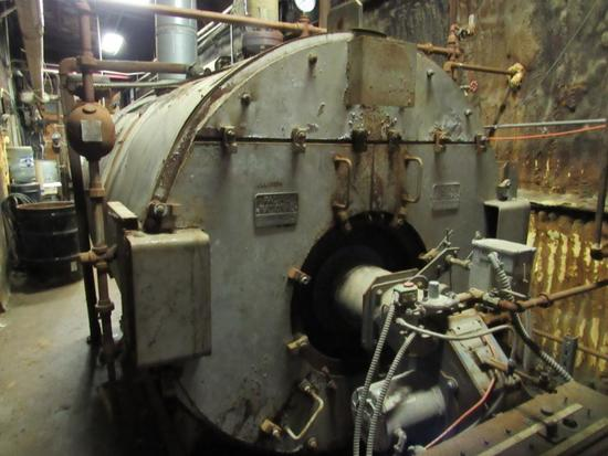 Pacific National Gas Fired Low Pressure Boiler, S/N 1LC65258