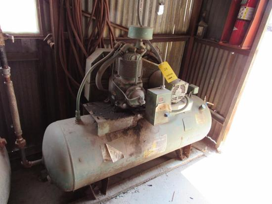 Champion 5 HP 2-Stage Reciprocating Horizontal Tank Mounted Air Compressor
