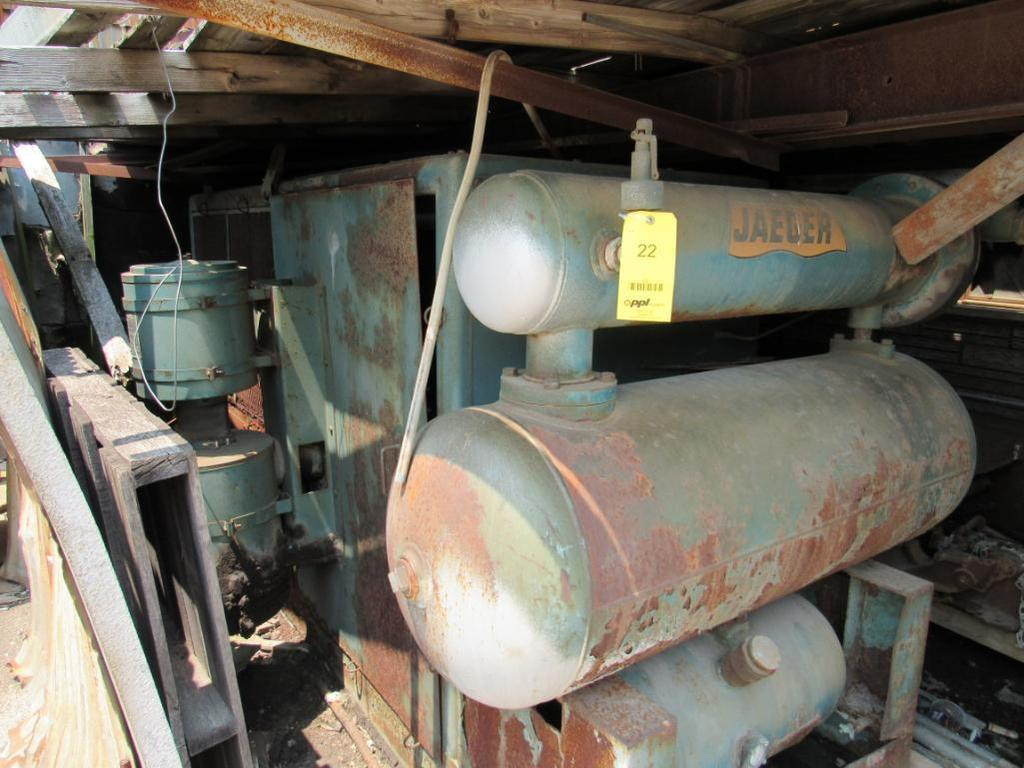 Jaeger 75 HP Rotary Air Compressor