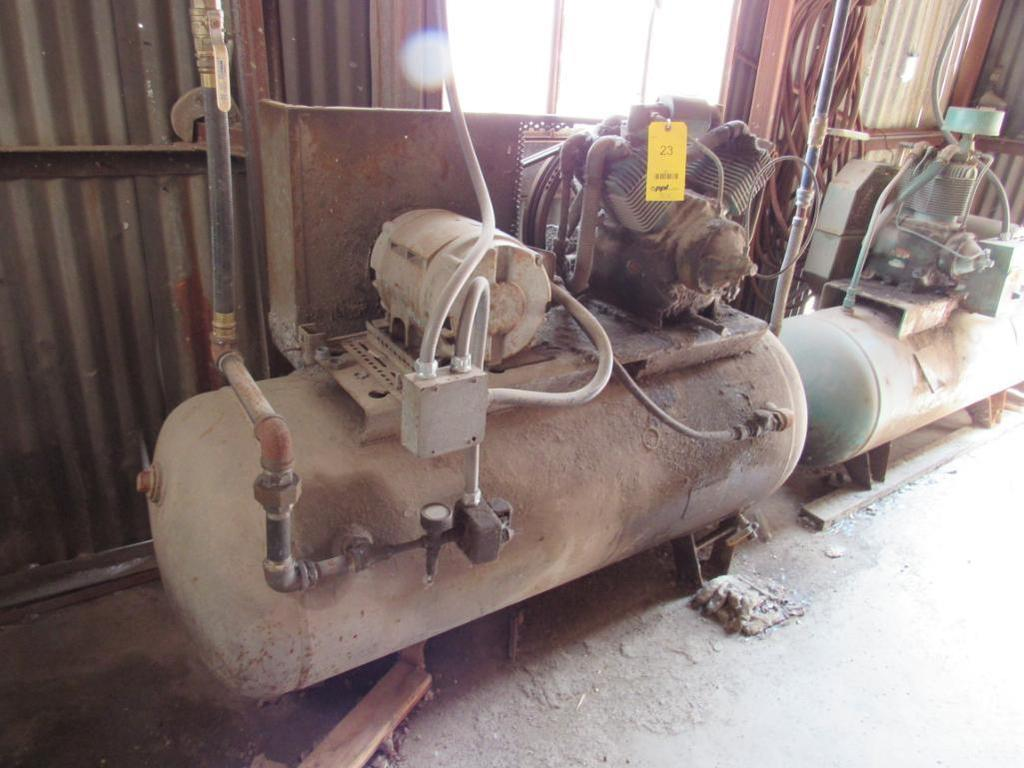 10 HP 2-Stage Reciprocating Horizontal Tank Mounted Air Compressor