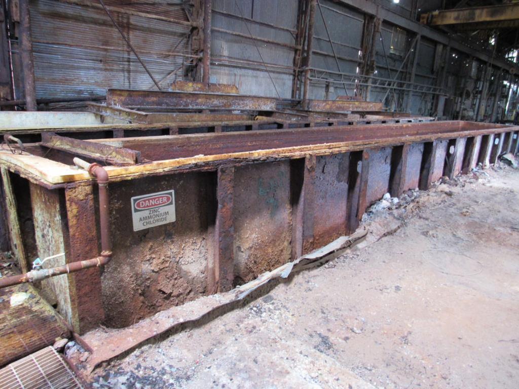 68 in. Wide x 72 in. Deep x 45 ft. Steel Dip Tank