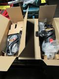 LOT: (2) 4-1/2 in. Angle Grinders (new in box), (1) Dewalt 4-1/2 in. Angle Grinder