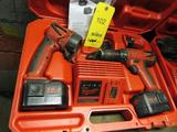 Milwaukee 14.4 Volt Cordless Drill/Light Set, with Case