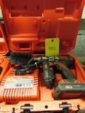 Milwaukee 18 Volt Red Lithium Cordless Drill, with Case