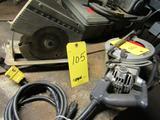 LOT: (2) Assorted Electric Circular Saws