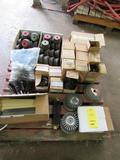 LOT: Assorted New Grinding Discs, Wire Wheels, Grinding Wheels, Files, Wire Brush, Grinding Cups,