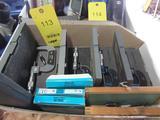 LOT: (5) Assorted Micrometers, Caliper, etc. in (1) Box