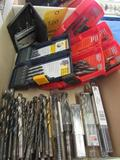 LOT: Assorted Drill Indexes & Drills in (2) Boxes