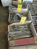 LOT: Assorted Open End / Box End Wrenches in (3) Boxes