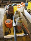 LOT: Assorted Hydraulic Jacks in (1) Box