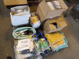 LOT: Assorted Safety Equipment - Safety Glasses, Safety Helmets, Face Shields, Respirators, etc. on