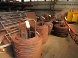 LOT: (8) Stands with .120 Steel Wire - Approx. 17,100 lbs. Total
