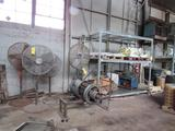 LOT: (4) Sections Pallet Rack with Contents, (4) Floor Fans, (1) Motor Under Repair