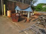 LOT: Assorted Steel, Stands, Plates, etc. (along northwest corner of Building #2)