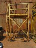 High Maintenance Forkliftable Safety Cage, 71 in. x 58 in. x 125 in. High