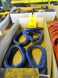 LOT: (10) New Blue Oblong Chain Links, 7/8 in., W.L.L. 8300 lbs.